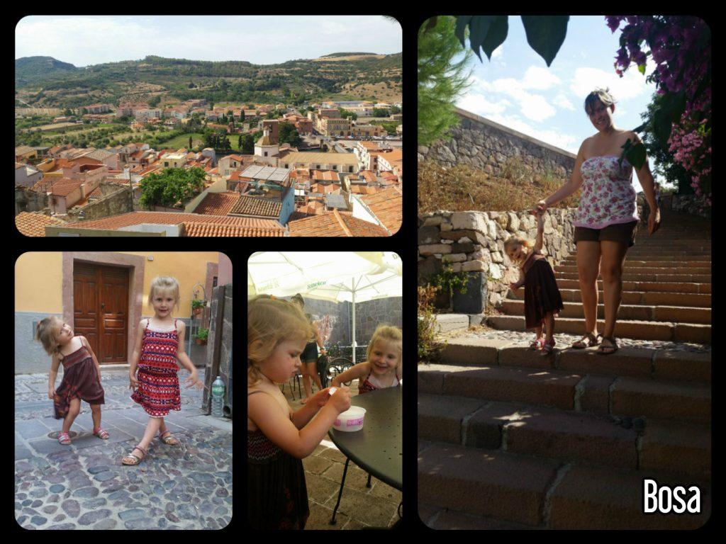 Visite de la ville de Bosa et du château Sardaigne