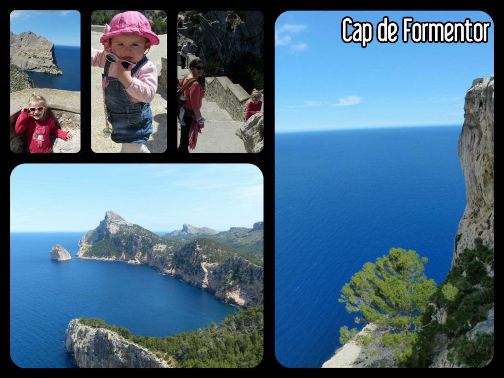 Arrêt au panorama sur le cap de Formentor à Palma de majorque