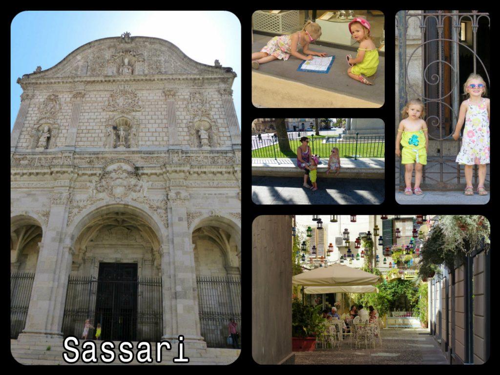 Visite de la ville de Sassari en Sardaigne