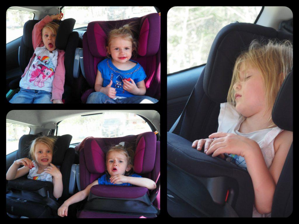 Voyager en voiture avec des enfants