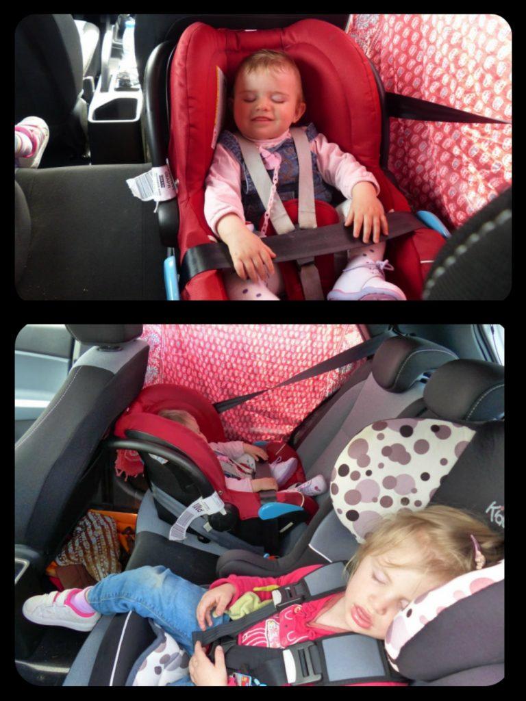 Voyage en voiture avec enfants