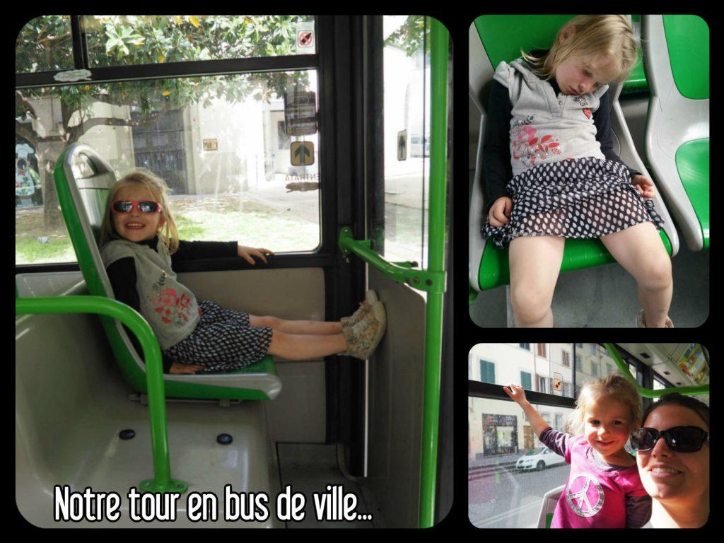 Bus de ville Florence Italie