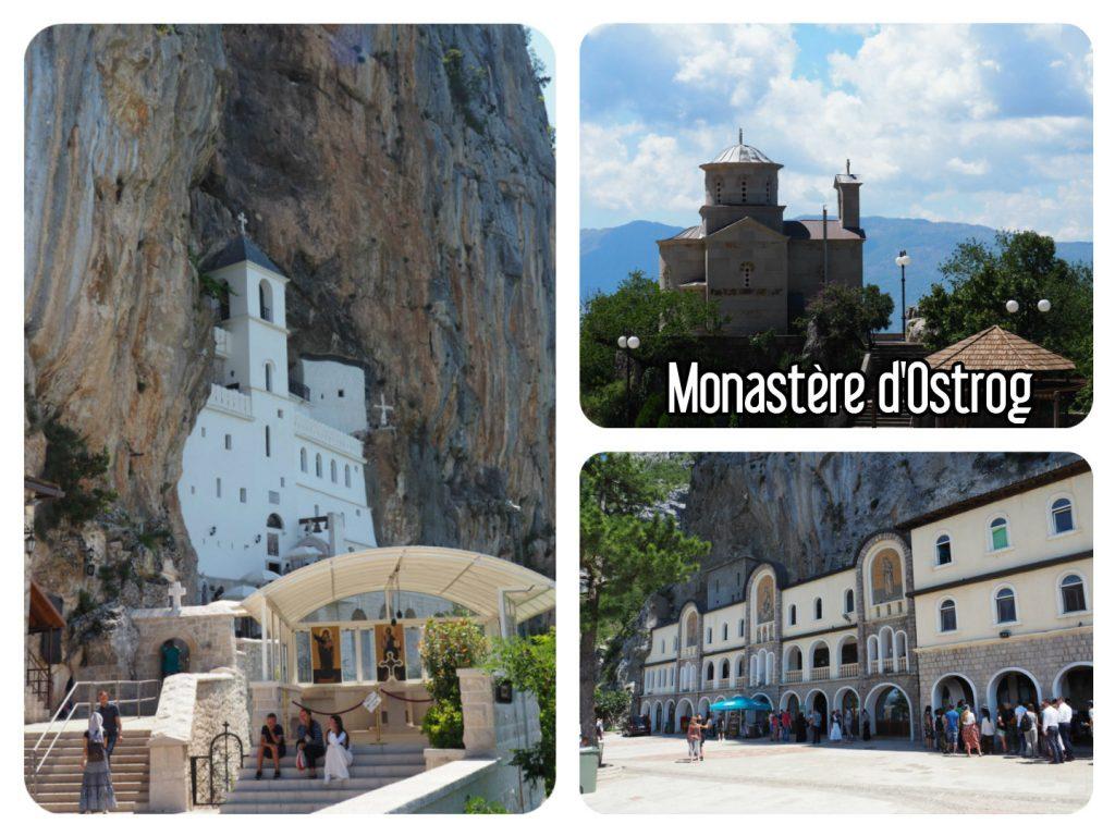 Monastère d'Ostrog Monténégro